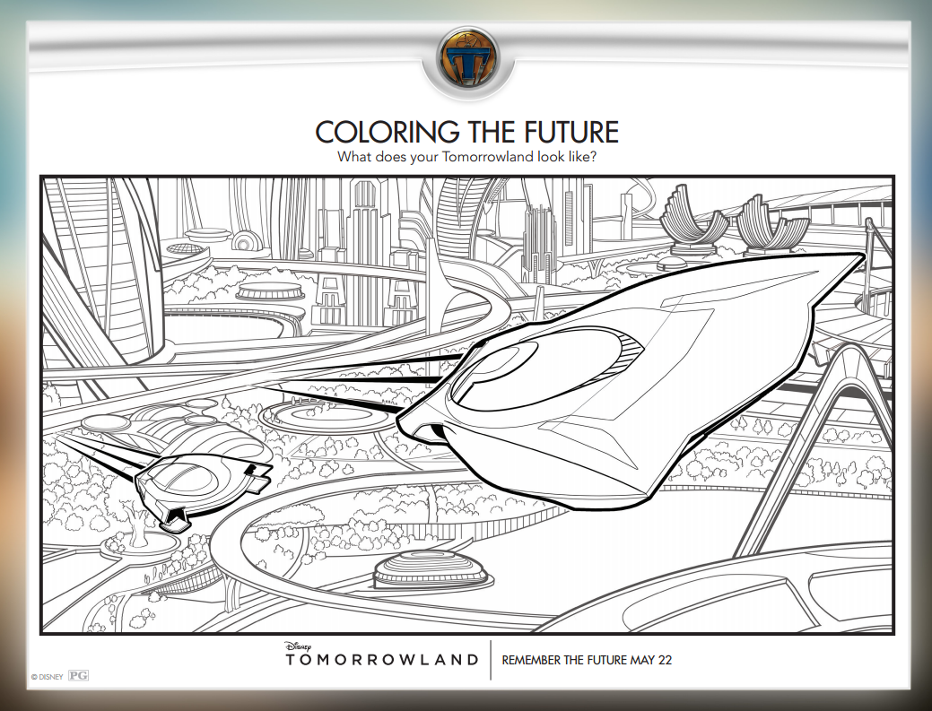 TomorrowlandColoringPage