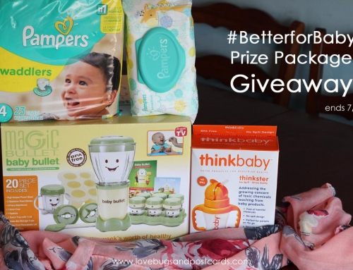 Pampers #BetterForBaby Pledge and Giveaway!