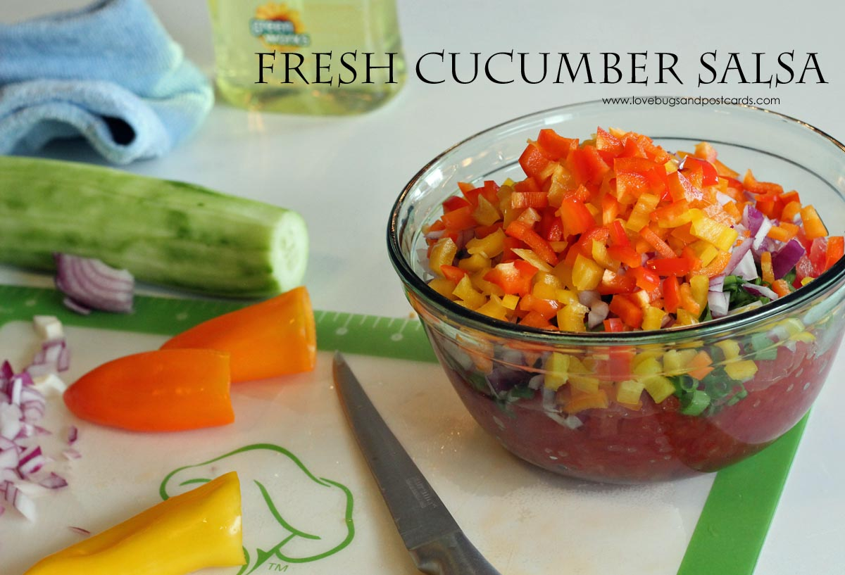 Fresh Cucumber Salsa Recipe