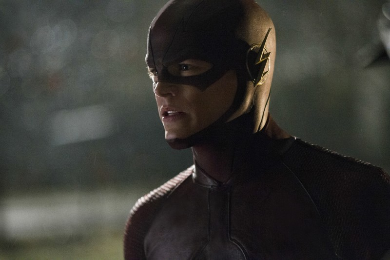 "The Flash -- ""Pilot"" -- Image FLA101f_0817 -- Pictured: Grant Gustin as The Flash -- Photo: Jack Rowand/The CW -- © 2014 The CW Network, LLC. All rights reserved"