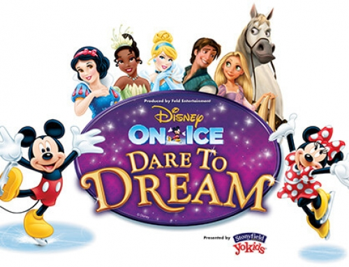 GIVEAWAY: 4 tickets to Disney On Ice presents Dare to Dream in Salt Lake City Nov. 12, 2015