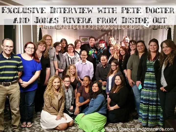 Exclusive Interview with Pete Docter and Jonas Rivera from Inside Out #InsideOutBloggers