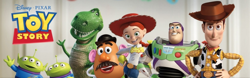 The beginnings of Toy Story and a tour of the PIXAR Archives