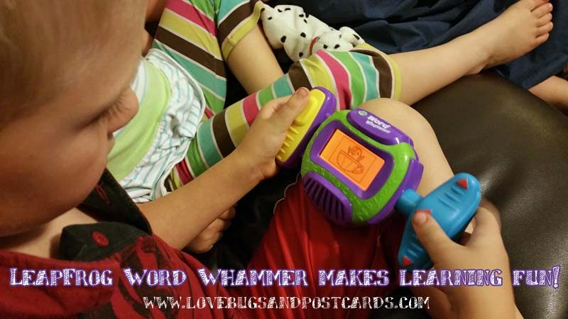 LeapFrog Word Whammer makes learning fun!
