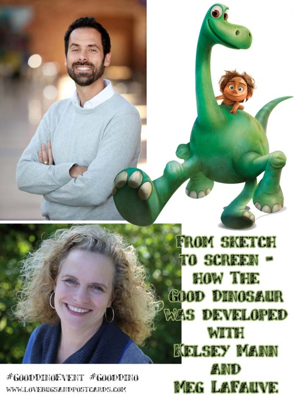 From sketch to screen - how The Good Dinosaur was developed with Kelsey Mann and Meg LaFauve #GoodDinoEvent #GoodDino