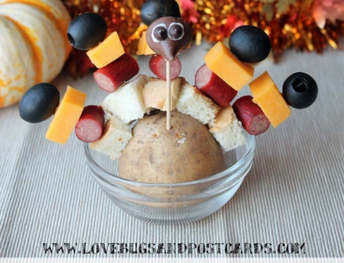 Snack Stick Turkeys  #MakeItDelish