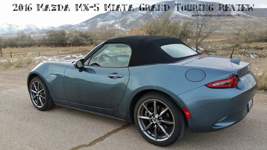 2016 Mazda MX-5 Miata Grand Touring Review