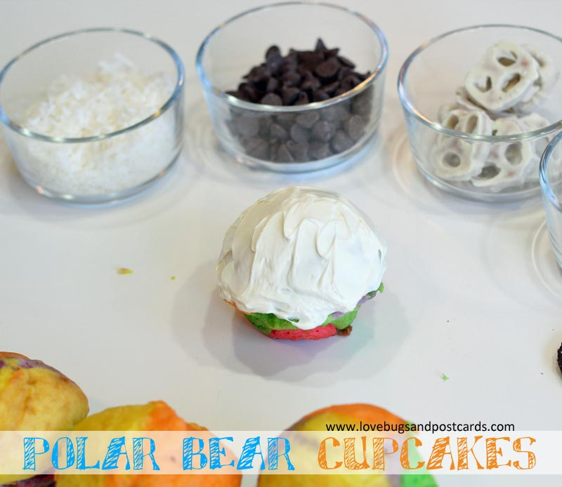 Polar Bear Cupcakes #BreakTheNorm
