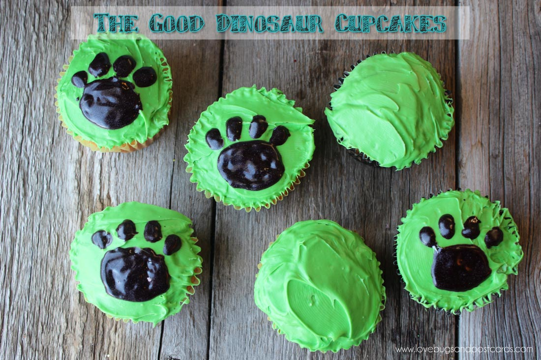 The Good Dinosaur Cupcakes