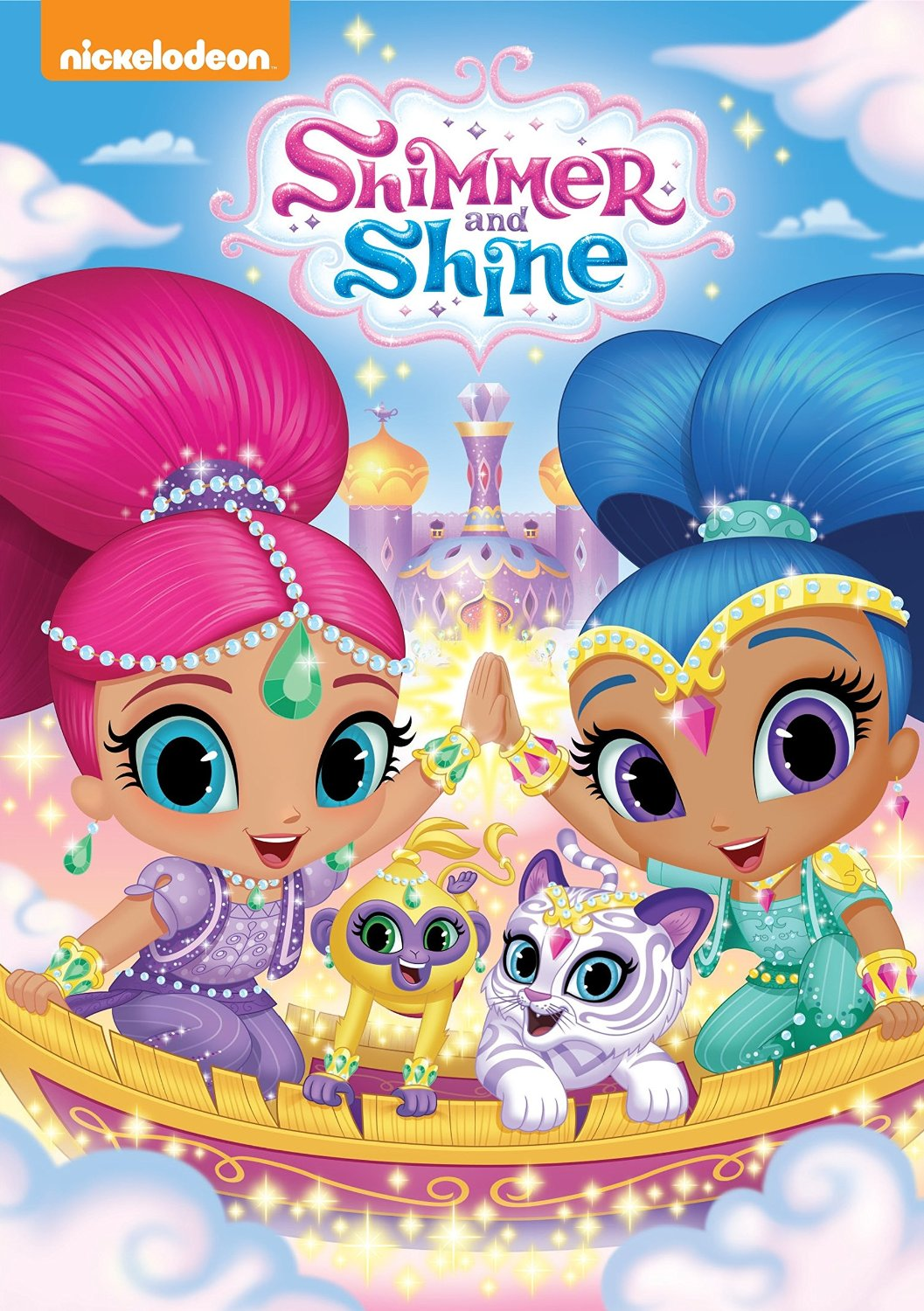 Nickelodeon's Shimmer & Shine on DVD today! - Lovebugs and Postcards