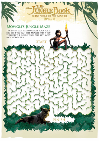 The Jungle Book Jungle Maze