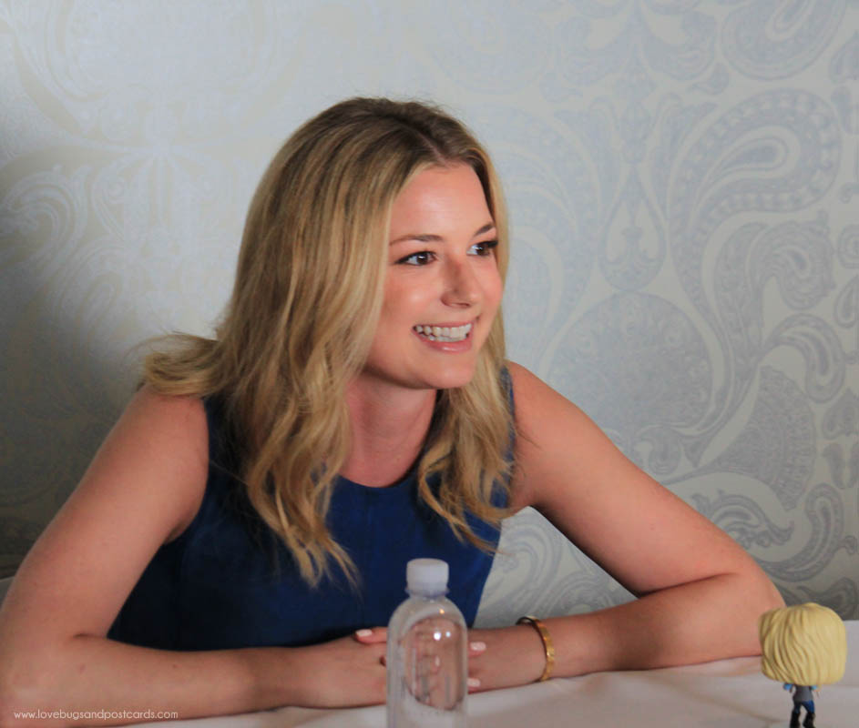 Interview with Emily VanCamp #CaptainAmericaCivilWar #CaptainAmericaEvent