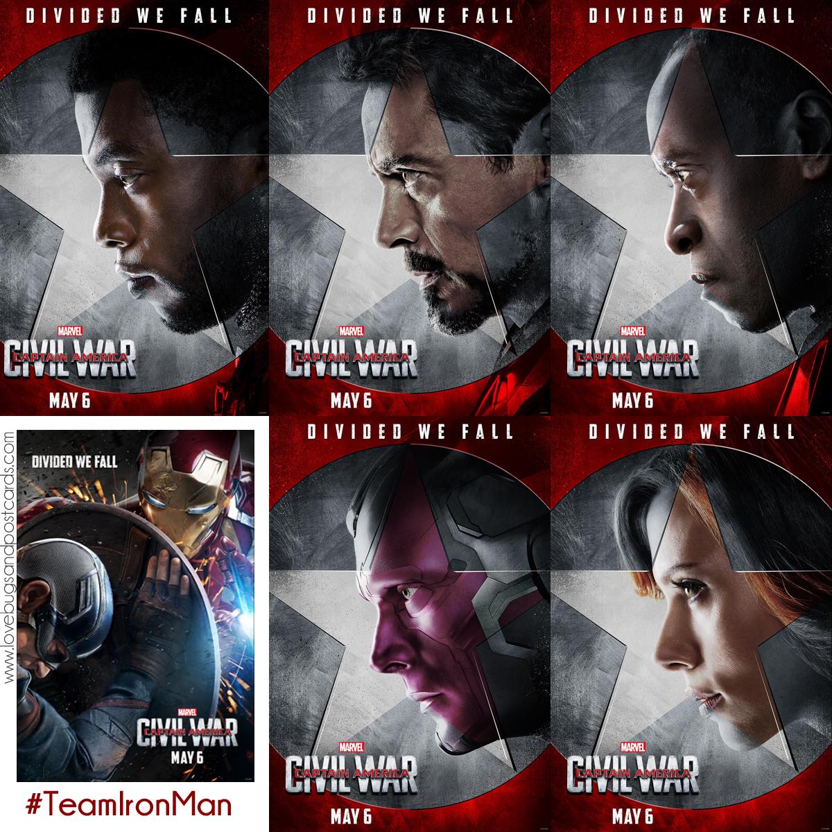 Marvel's Captain America: Civil War #TeamIronMan