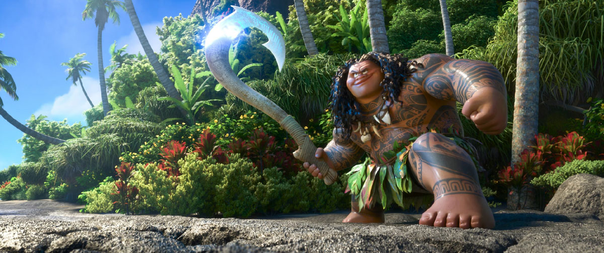 Disney's MOANA trailer and new poster #Moana
