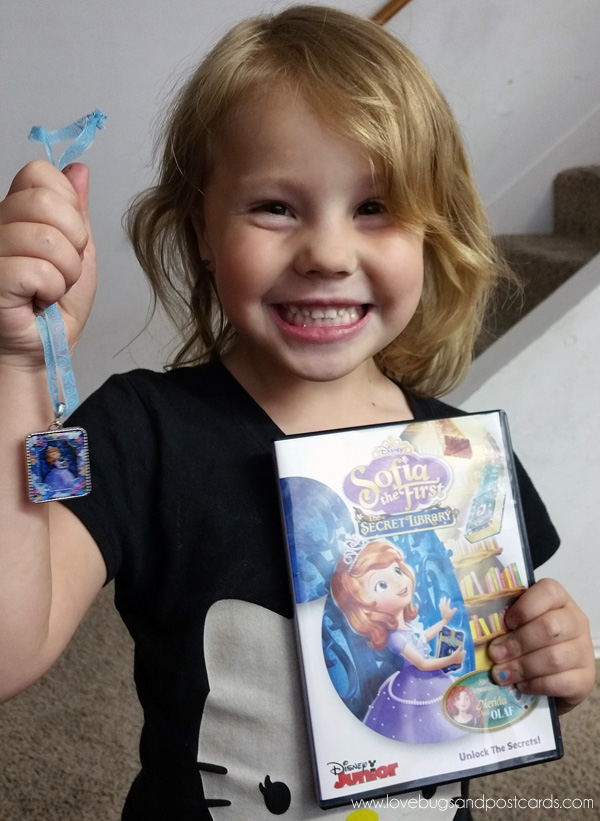 Sofia the First The Secret Library on DVD