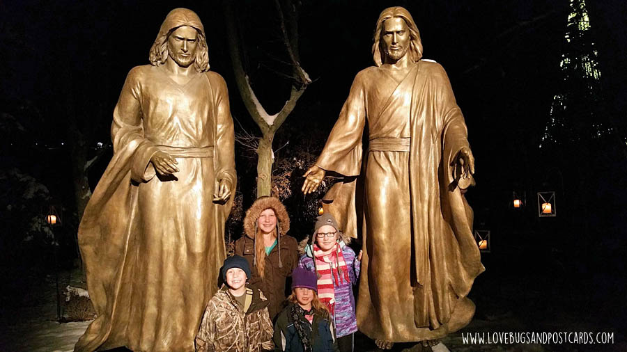 Luminaria at Thanksgiving Point in Utah