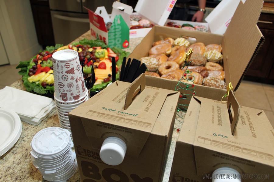 Let Sizzling Platter and Dunkin' Donuts cater your next Get-Together