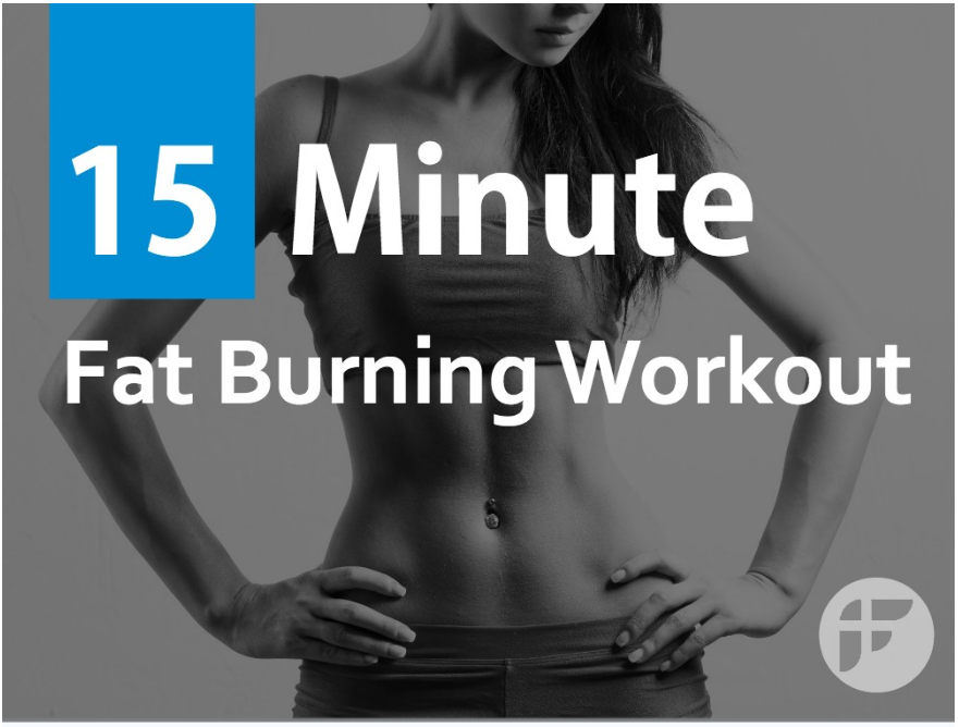 15 Minute Bodyweight Fat Loss Workout for Women