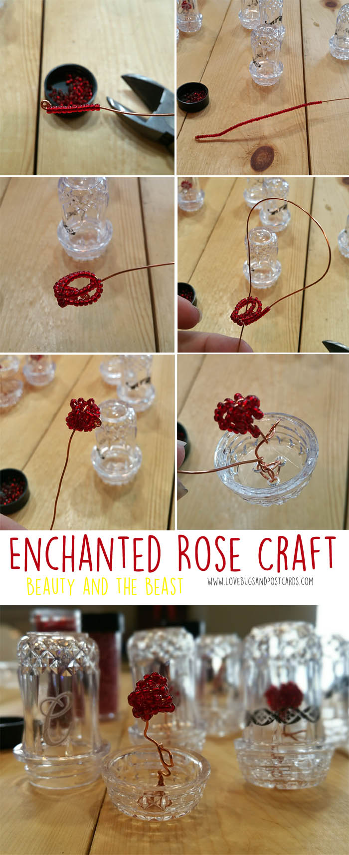 Enchanted Rose Bead Craft