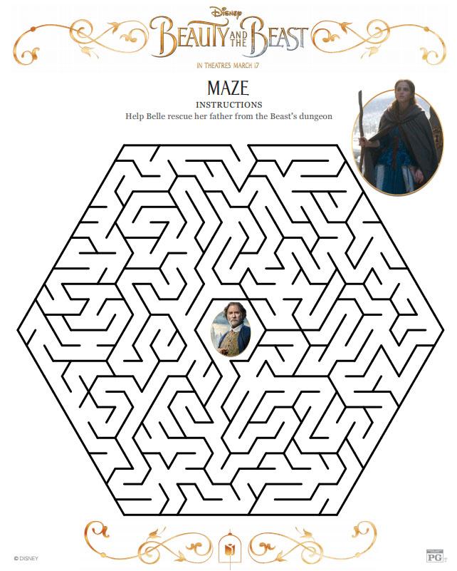 Beauty And The Beast Maze