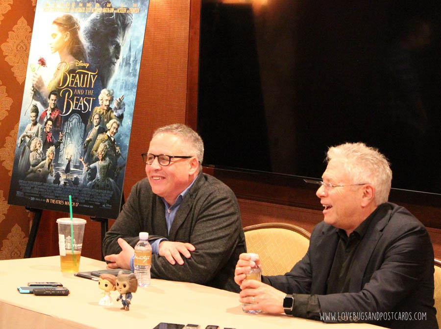 Interview with Director Bill Condon & Alan Menken about Disney's Beauty and the Beast #BeOurGuestEvent