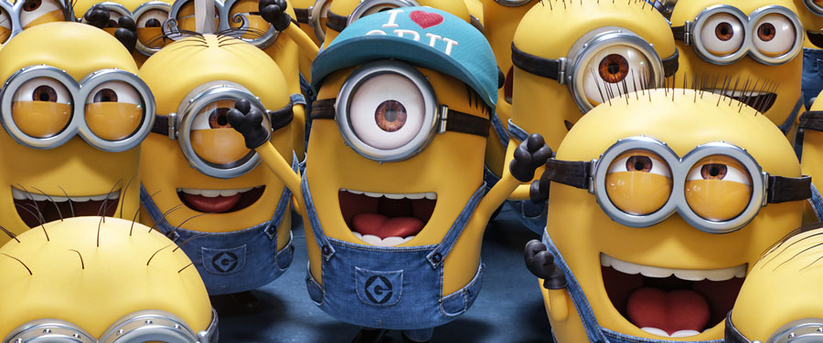 New trailer for DESPICBALE ME 3 #DespicableMe3 #Minions