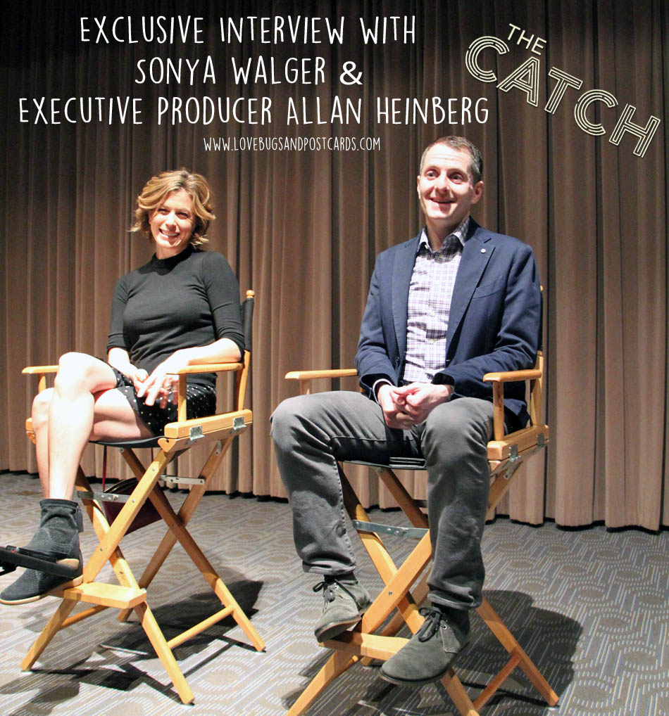 "New Episode of ""The Catch"" + Exclusive Interview with Sonya Walger & Executive Producer Allan Heinberg"
